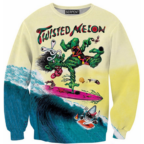 Twisted Melon Sweatshirt
