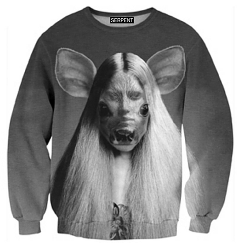 Rat Woman Sweatshirt