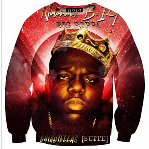 Notorious BIG: Big Poppa Sweatshirt