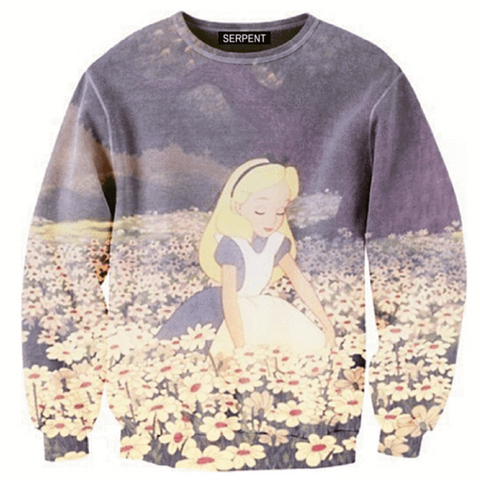 Alice In Wonderland Sweatshirt