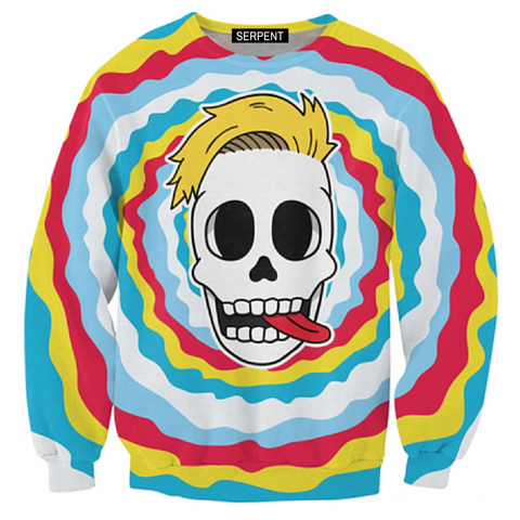 Miley Skull Sweatshirt