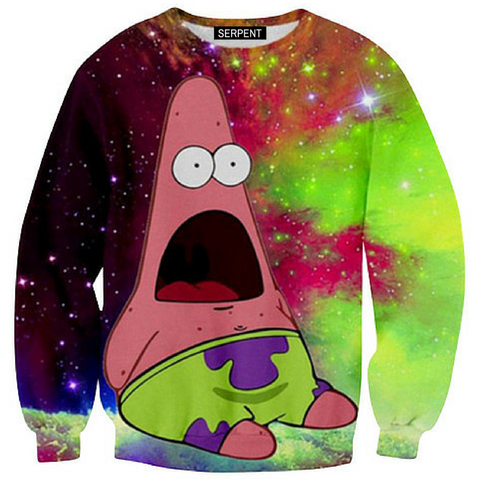 Patrick Star Galaxy Sweatshirt