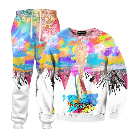 3D Abstract Destruction Tracksuit