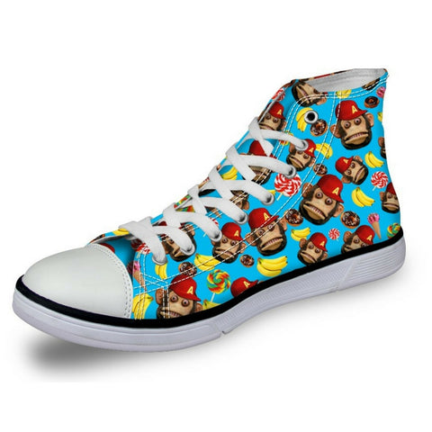 Women's Monkey Blue Shoes