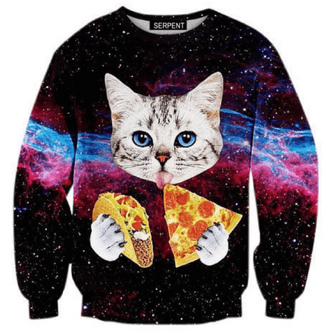 Space Kitty Sweatshirt