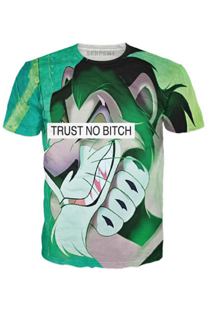 Trust No Bitch Scar T-Shirt