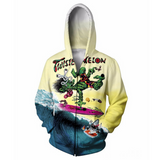 Twisted Melon Hoodie Jacket