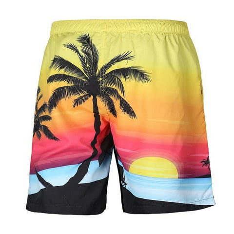Coconut Tree Casual Shorts