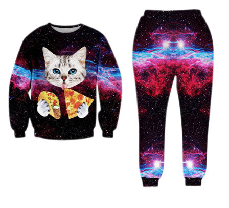 Space Kitty Full Tracksuit
