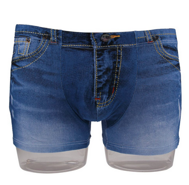 3D Denim Effect Boxers