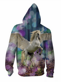 Happy Unicorn Hooded Jacket