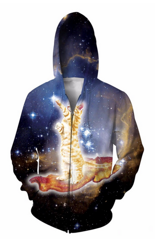 Bacon KItty Hooded Jacket