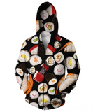 Sushi Hooded Jacket
