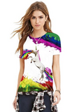 Unicorn Rainbow T-Shirt