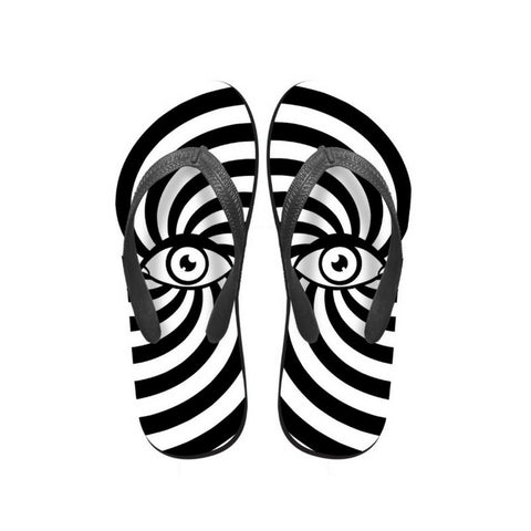 Black and White Flip Flops Flip Flops