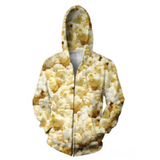 Popcorn 3D Hooded Jacket