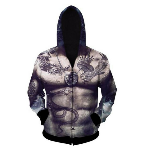 Abs Hooded Jacket
