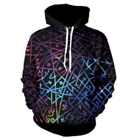 Dysfunction Line Galaxy Hoodie