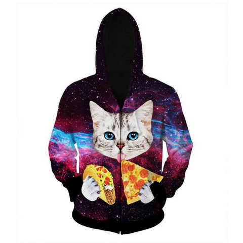 Space Kitty Hooded Jacket