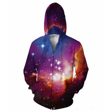Destirim Space Hooded Jacket