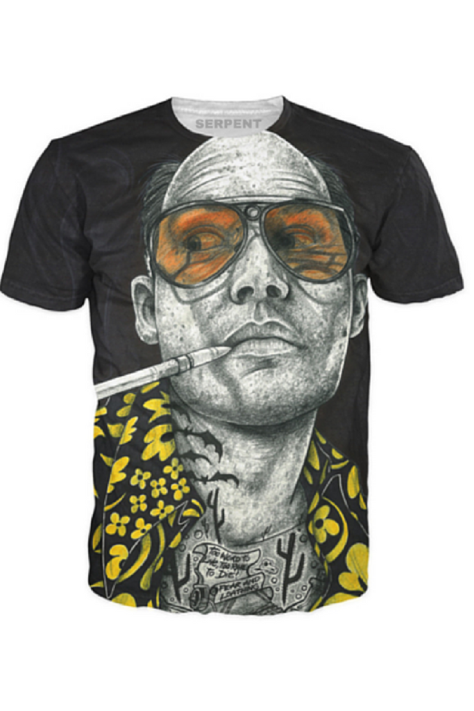 Inked Johnny Depp T-Shirt1