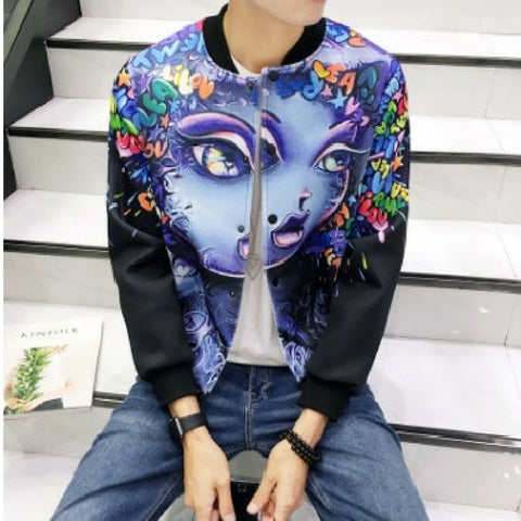 Afro Beauty Bomber Jacket