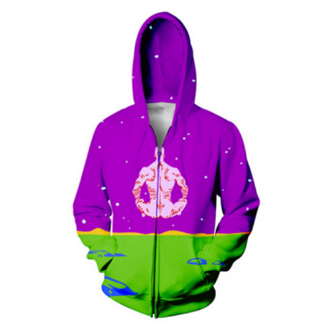 Dr. Manhattan Hooded Jacket
