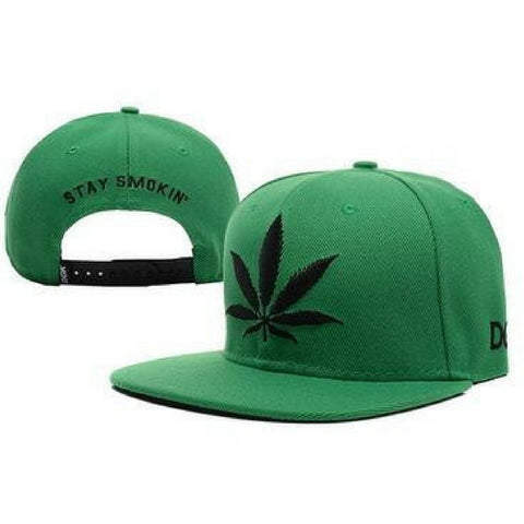 Stay Smokin green Snapback