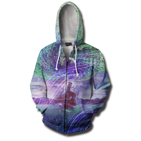 Gratitude For The Earth And Sky Hooded Jacket