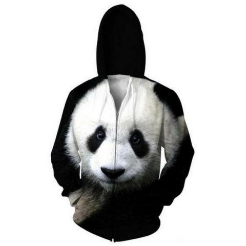 The Panda Hooded Jacket