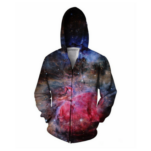 Heart of the Galaxy Hooded Jacket
