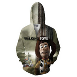 Walking Toys Hooded Jacket