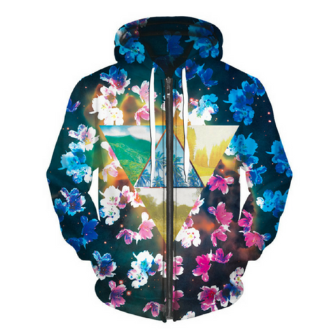Cherry Blossom Hoodie Jacket