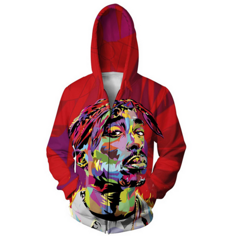 2Pac Hooded Jacket