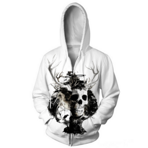 King of Spades Hooded Jacket
