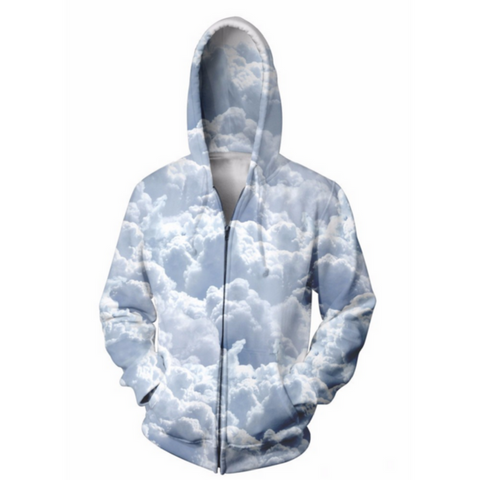 Clouds Hooded Jacket