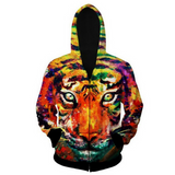 Tiger Painting Jacket