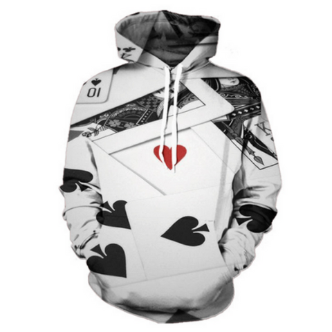 Heart Of The Cards Hoodie