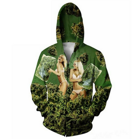420 Pillow Fight Hooded Jacket