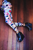Sugar Skull Printed Leggings