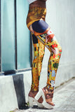 Classic Art Printed Leggings