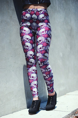 Scull Printed Leggings