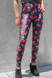 Cherry Printed Leggings