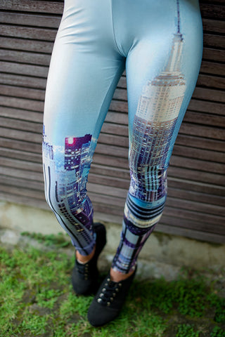 City Printed Leggings