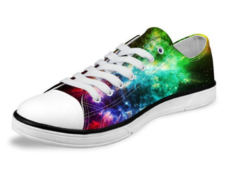 Women's Interior Galaxy Stars Canvas Shoes