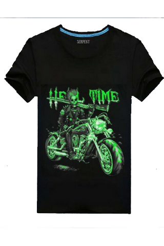 Devil Gun Motorcycle T-Shirt