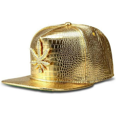 WEED Gold Snapback
