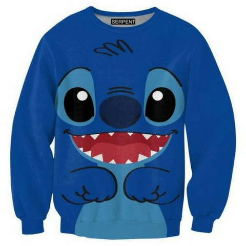 Blue Stitch Sweatshirt