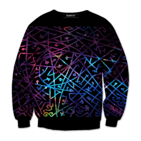 Dysfunction Line Galaxy Sweatshirt