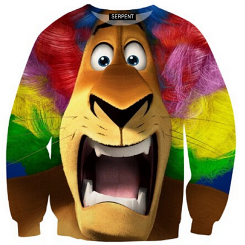 Alex The Lion Sweatshirt